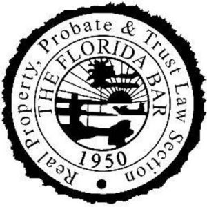 Florida Bar Real Property Probate Trust Law Section (IDK)